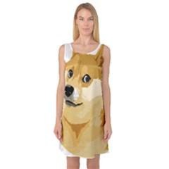 Dogecoin Sleeveless Satin Nightdresses by dogestore