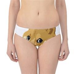 Dogecoin Hipster Bikini Bottoms by dogestore