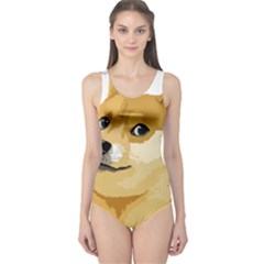 Dogecoin Women s One Piece Swimsuits by dogestore