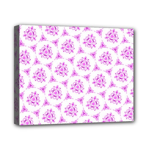 Sweet Doodle Pattern Pink Canvas 10  X 8  by ImpressiveMoments