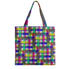 Doodle Pattern Freedom  Zipper Grocery Tote Bags
