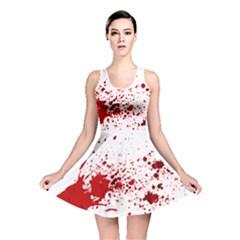 Blood Splatter 1 Reversible Skater Dresses by TailWags