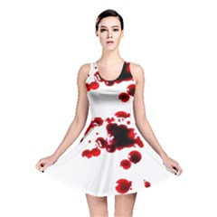 Blood Splatter 2 Reversible Skater Dresses by TailWags