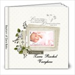 Zara Baptism - 8x8 Photo Book (20 pages)