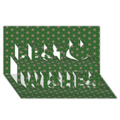 Cute Seamless Tile Pattern Gifts Best Wish 3d Greeting Card (8x4)  by creativemom