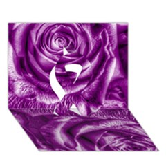 Gorgeous Roses,purple  Ribbon 3d Greeting Card (7x5)  by MoreColorsinLife