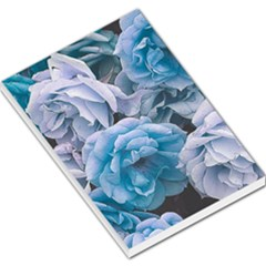Great Garden Roses Blue Large Memo Pads