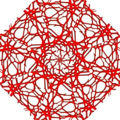 Hot Web Red Folding Umbrellas
