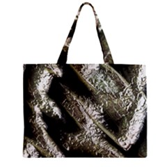 Brilliant Metal 5 Zipper Tiny Tote Bags by MoreColorsinLife