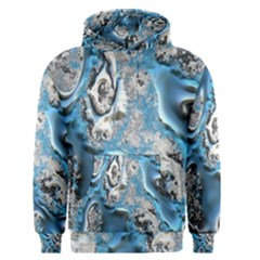 Metal Art 11, Blue Men s Pullover Hoodies by MoreColorsinLife