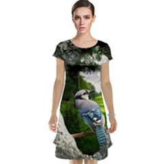 Bird In The Tree Cap Sleeve Nightdresses by infloence