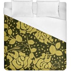 Floral Wallpaper Forest Duvet Cover Single Side (KingSize) by ImpressiveMoments