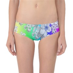 Delicate Floral Pattern,rainbow Classic Bikini Bottoms by MoreColorsinLife