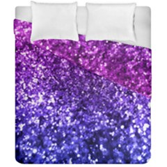 Midnight Glitter Duvet Cover (Double Size) by KirstenStar