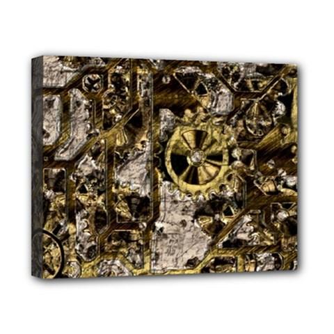 Metal Steampunk  Canvas 10  x 8  by MoreColorsinLife