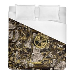 Metal Steampunk  Duvet Cover Single Side (twin Size) by MoreColorsinLife