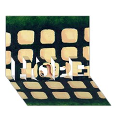 Crowd  Hope 3d Greeting Card (7x5)  by theimagezone