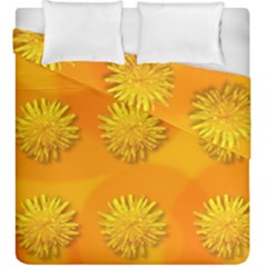 Dandelion Pattern Duvet Cover (king Size) by theimagezone