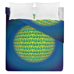 People Planet  Duvet Cover (Full/Queen Size) by theimagezone