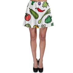 Vegetables 01 Skater Skirts by Famous