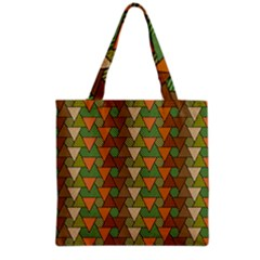 Geo Fun 7 Warm Autumn  Grocery Tote Bags by MoreColorsinLife