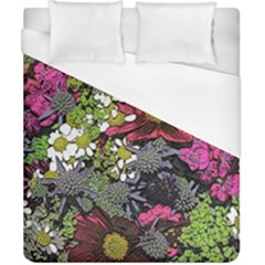 Amazing Garden Flowers 21 Duvet Cover Single Side (double Size) by MoreColorsinLife