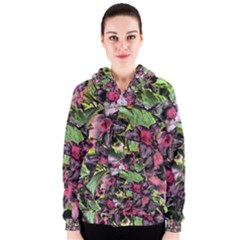 Amazing Garden Flowers 33 Women s Zipper Hoodies by MoreColorsinLife