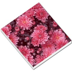Awesome Flowers Red Small Memo Pads by MoreColorsinLife