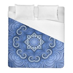 Awesome Kaleido 07 Blue Duvet Cover Single Side (twin Size) by MoreColorsinLife