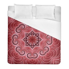 Awesome Kaleido 07 Red Duvet Cover Single Side (twin Size) by MoreColorsinLife
