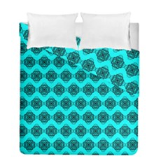 Abstract Knot Geometric Tile Pattern Duvet Cover (twin Size) by creativemom