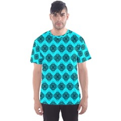 Abstract Knot Geometric Tile Pattern Men s Sport Mesh Tees by creativemom