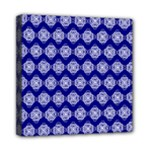 Abstract Knot Geometric Tile Pattern Mini Canvas 8  x 8