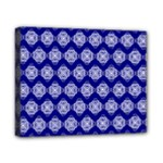 Abstract Knot Geometric Tile Pattern Canvas 10  x 8