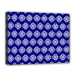 Abstract Knot Geometric Tile Pattern Canvas 14  x 11