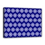 Abstract Knot Geometric Tile Pattern Canvas 16  x 12