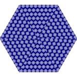 Abstract Knot Geometric Tile Pattern Mini Folding Umbrellas
