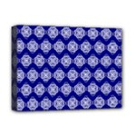 Abstract Knot Geometric Tile Pattern Deluxe Canvas 16  x 12