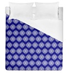 Abstract Knot Geometric Tile Pattern Duvet Cover Single Side (Full/Queen Size)