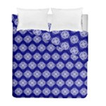 Abstract Knot Geometric Tile Pattern Duvet Cover (Twin Size)