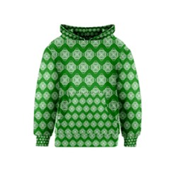 Abstract Knot Geometric Tile Pattern Kid s Pullover Hoodies by creativemom