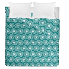 Gerbera Daisy Vector Tile Pattern Duvet Cover (full/queen Size) by creativemom