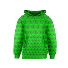 Gerbera Daisy Vector Tile Pattern Kid s Pullover Hoodies by creativemom