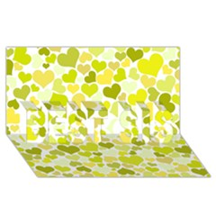 Heart 2014 0906 Best Sis 3d Greeting Card (8x4)  by JAMFoto