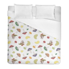 Mushrooms Pattern Duvet Cover Single Side (twin Size) by Famous