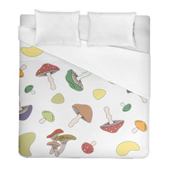 Mushrooms Pattern 02 Duvet Cover Single Side (twin Size) by Famous