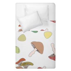 Mushrooms Pattern 02 Duvet Cover (single Size) by Famous