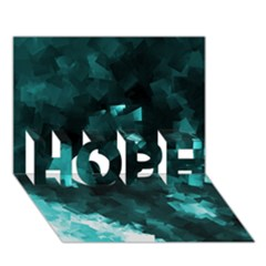 Space Like No 5 Hope 3d Greeting Card (7x5)  by timelessartoncanvas