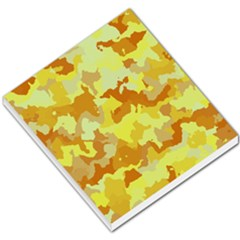 Camouflage Yellow Small Memo Pads
