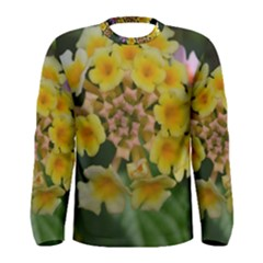 Colorful Flowers Men s Long Sleeve T-shirts
